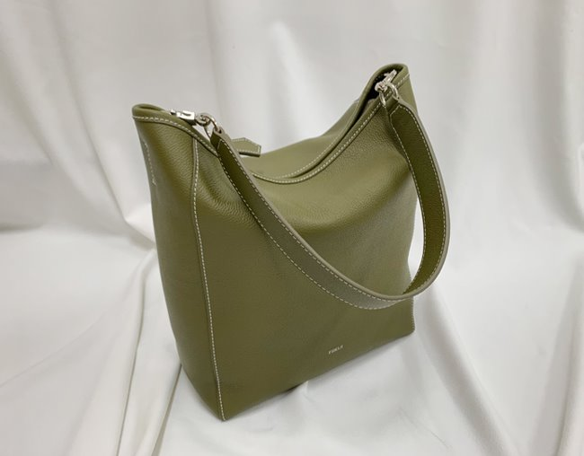 BASKET BAG M_ olive